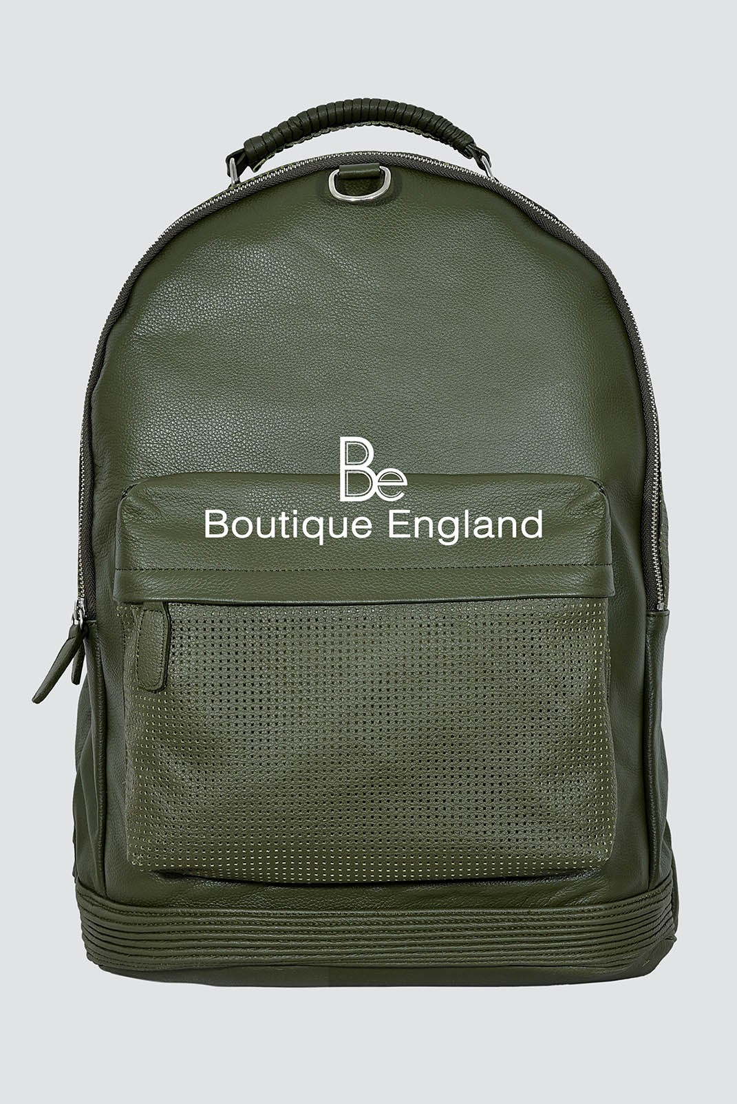 New Large 1005 Commando Green Cowhide Backpack Stylish Duffle Travel Gym Real Genuine Leather Bag