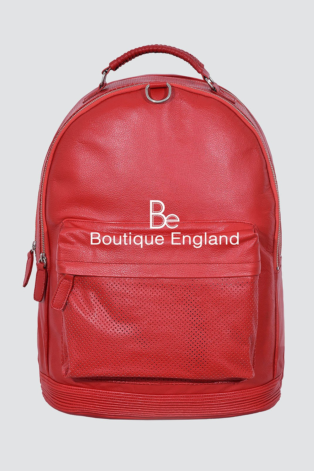 NEW LARGE 1005 Red COWHIDE BACKPACK STYLISH DUFFLE TRAVEL GYM REAL GENUINE LEATHER BAG