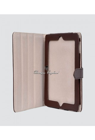 i-PAD 2 3 & 4 BROWN Washed Lambskin Luxury Real Genuine Leather Cover Case Stand