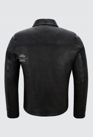 LOOPER Movie Joseph Gordon Levitt Leather Jacket Replica Black by Character Joe 5235