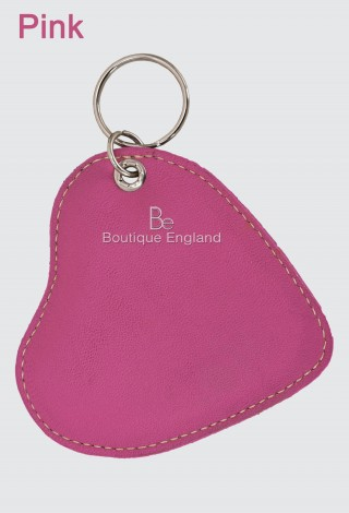 Heart Shape Key Chain Genuine lambskin soft Key Ring Key Finder Key Holder