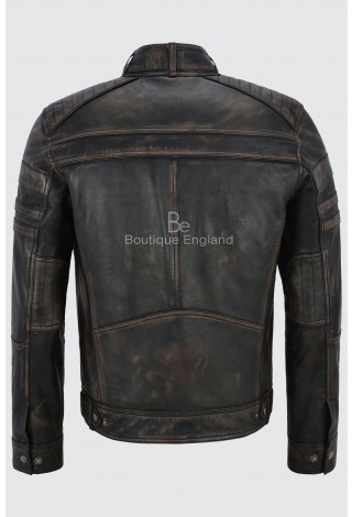 Jason Statham Men's Brave Action Italian Vintage Real Leather Celebrity Jacket 1106