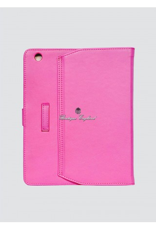 i-PAD 2 3 & 4 PINK Soft Lambskin Luxury Real Genuine Leather Cover Case Stand