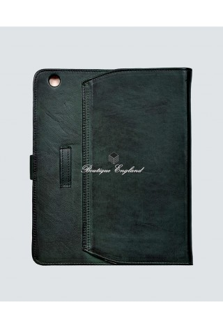 i-PAD 2 3 & 4 GREEN Washed Lambskin Luxury Real Genuine Leather Cover Case Stand