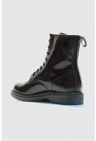 d42d69f8375 New Grinders Cedric 8 Eyelet Derby Lace Burgundy Mens Ladies Mid Calf  Leather Boots