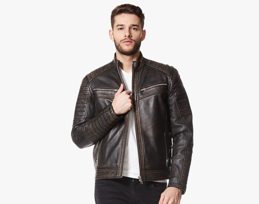 Men's Leather Wear